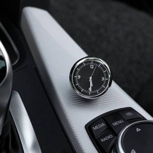 Accessories Mini Car Automobile Digital Clock Auto Watch Automotive Thermometer Hygrometer Decoration Ornament Clock In Car Accessories Accessories