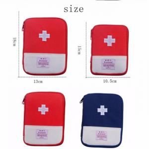 First aid pouch only for outdoor emergency medical bag medicine drug pill box home car survival kit emerge case small 600d oxford
