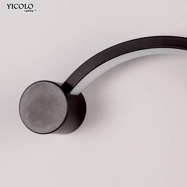 Decor Modern Wall Lamps for bedroom study living balcony room Acrylic home deco in White black iron body sconce led lights Fixtures [tag]