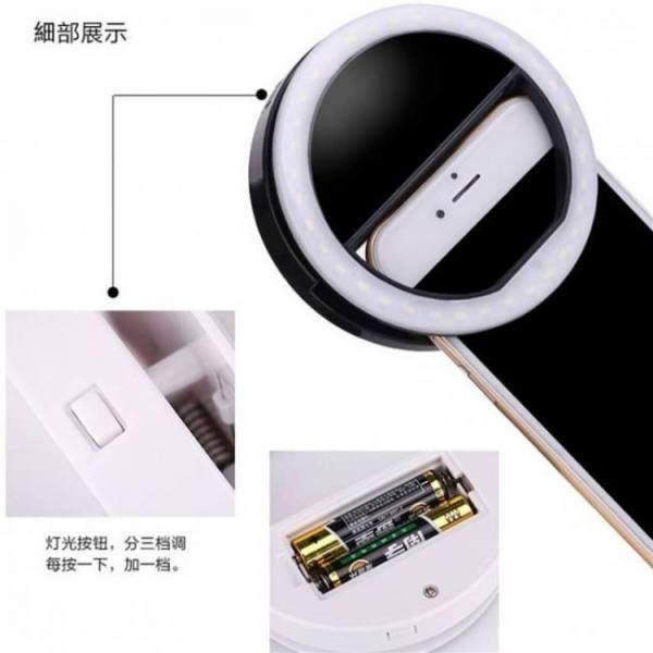 Xixi wonderful led mobile phone light and makeup mirror