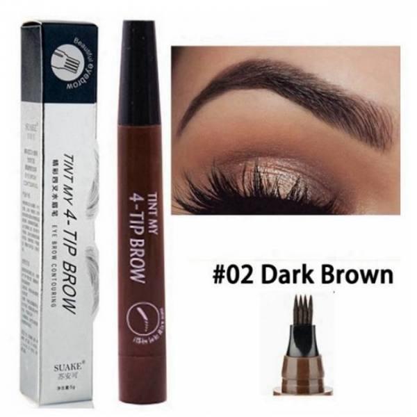 FREE SHIPPING Microblading Eyebrow Pen Waterproof Fork Tip Eyebrow Tattoo Pencil Long Lasting Professional Fine Sketch Liquid Eye Brow Pencil discount