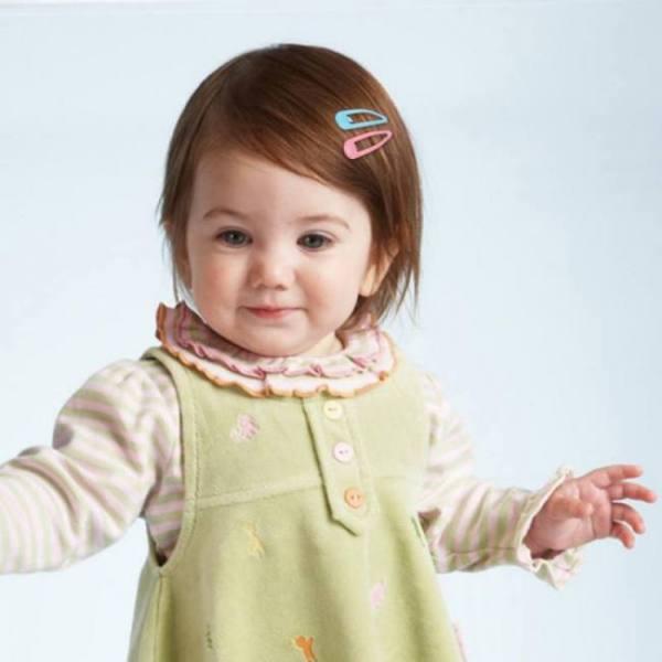 20pcs snap hair clip glitter hairpins for children kids hair clip pins for baby girls hair accessories cute metal barrettes 5cm