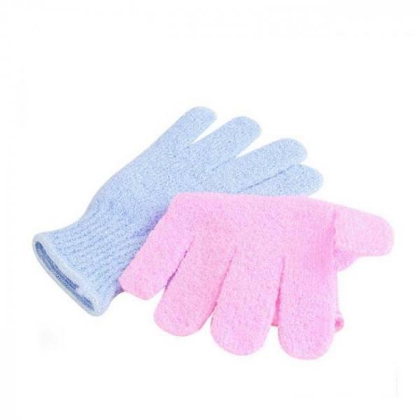 Bath 2pcs Shower Exfoliating Wash Skin Bath Gloves Foam Bath Skid Resistance Body Massage Cleaning Scrubber Shower Bath discount