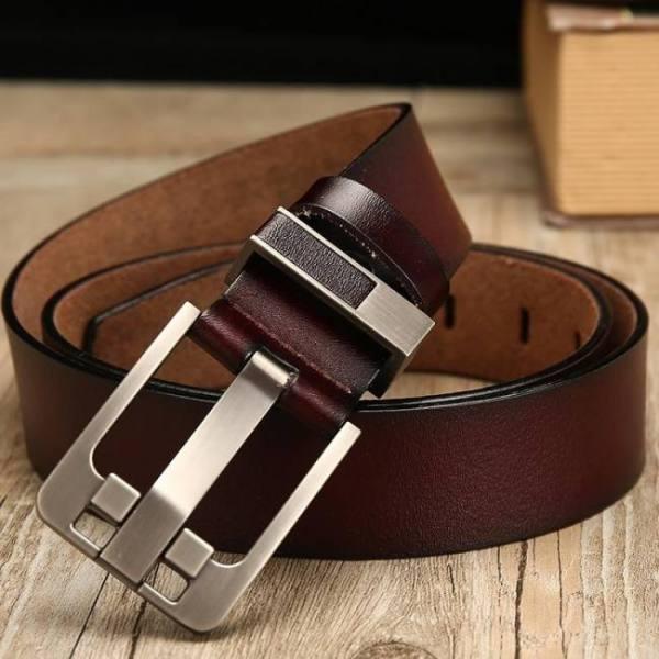 Belts DWTS belt male leather belt men male genuine leather strap luxury pin buckle belts for men belt Cummerbunds ceinture homme Free shipping