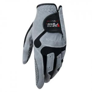 Men's golf glove micro fiber soft left hand anti-skidding non slip particles breathable golf glove