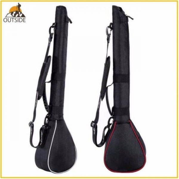 Foldable golf gun bag package capacity packed 3 clubs mini soft club bag package shoulder club bags for man woman