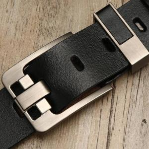 Lfmb belt male leather belt men strap male genuine leather luxury pin buckle belts for men belt