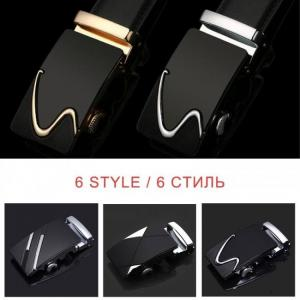 Lfmb famous brand belt men top quality genuine luxury leather belts for men,strap male metal automatic buckle