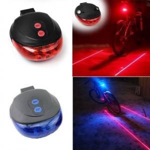 Biking Bicycle Tail Light (5LED+2Laser) Waterproof Cycling Bike Light 7 Cool Flash Mode Bike Rear Lights For Bike Accessories Lights bicycle