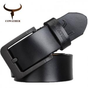 Cowather male belt for mens high quality cow genuine leather belts  xf010