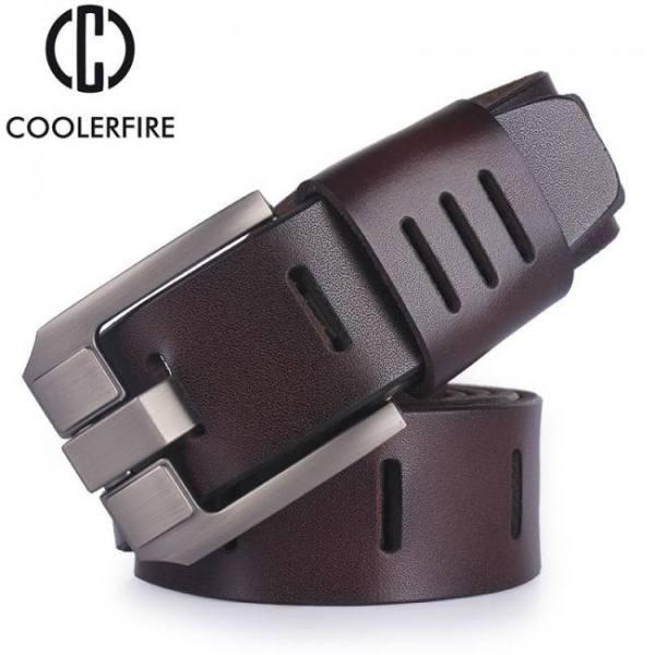High quality men's genuine leather belt designer belts men luxury strap male belts for men fashion vintage pin buckle for jeans