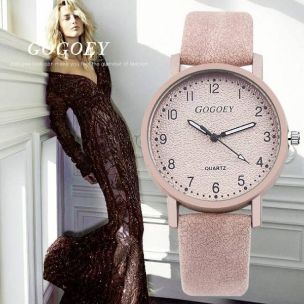 FREE SHIPPING Gogoey Brand Women's Watches Fashion Leather Wrist Watch Women Watches Ladies Watch Clock Mujer Bayan Kol Saati Montre Feminino [tag]