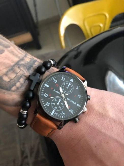 Military business watches men brand luxury sport relogio masculino brand luxury leather band quartz wrist watch drop shipping