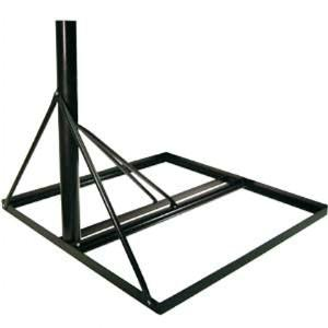 Npr4a Non Penetrating Roof Mount With 2 3 8 Mast Sadoun