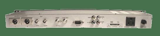 Geosatpro dsr-r100 rack mount w/xlr and bnc