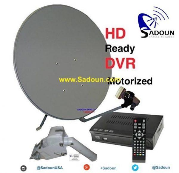 M-1 motorized hdtv fta free to air ethnic international satellite system kit