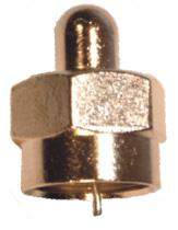 Connectors PVFT1  Terminator 75 Ohm 100 Bag 100
