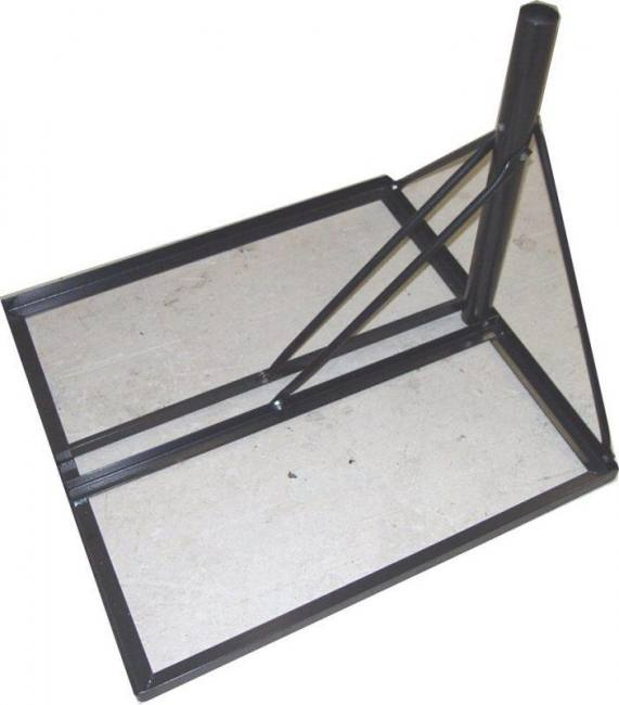 NPR4A NON PENETRATING ROOF MOUNT WITH 2 3/8 MAST