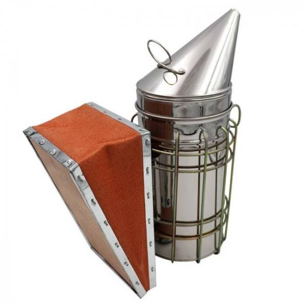 Stainless steel bee hive smoker