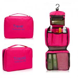 Mtb-5 high quality waterproof portable toiletry cosmetics makeup hanging travel bag