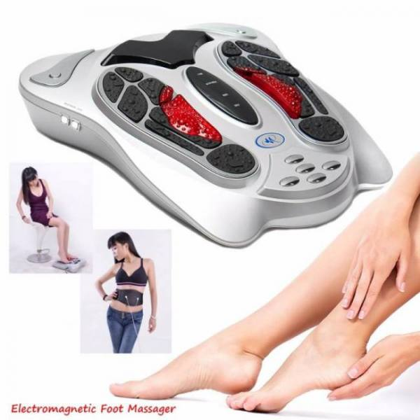 FREE SHIPPING Electric shiatsu and spa foot massage vibrator massager as seen on TV