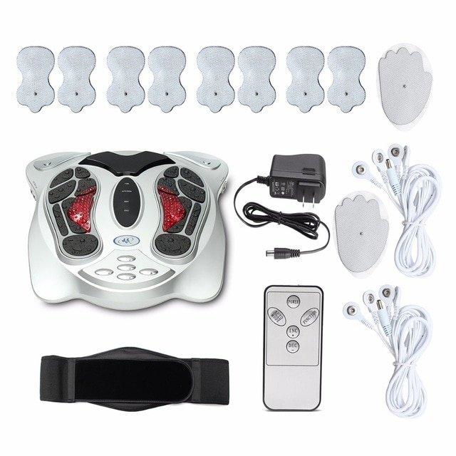 Electric shiatsu and spa foot massage vibrator massager