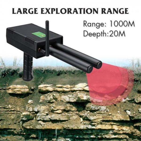 FREE SHIPPING AKSPLUS AKS plus 20M Depth Long Range gold silver copper diamond Metal Detector 20M