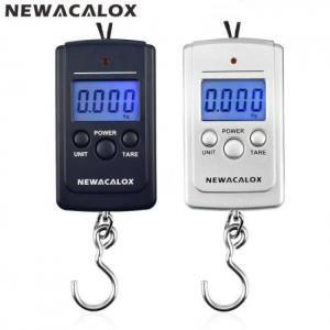 FREE SHIPPING Mini Portable Digital Fishing Scale LCD Display Weighting Electronic Hook Travel Luggage 40kg 88lb free