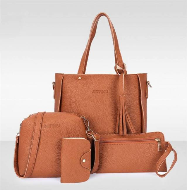 Women S Bags And Clutches Set