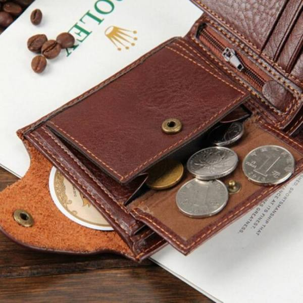 Stylish genuine leather wallet for men