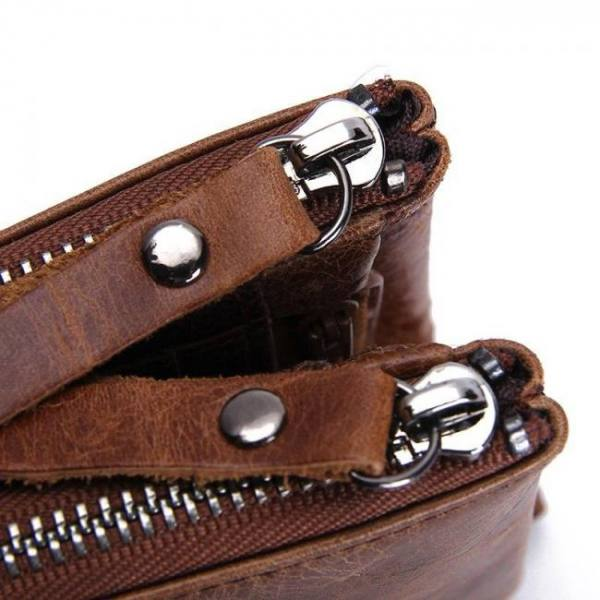 FREE SHIPPING Genuine Leather Men's Wallet [tag]