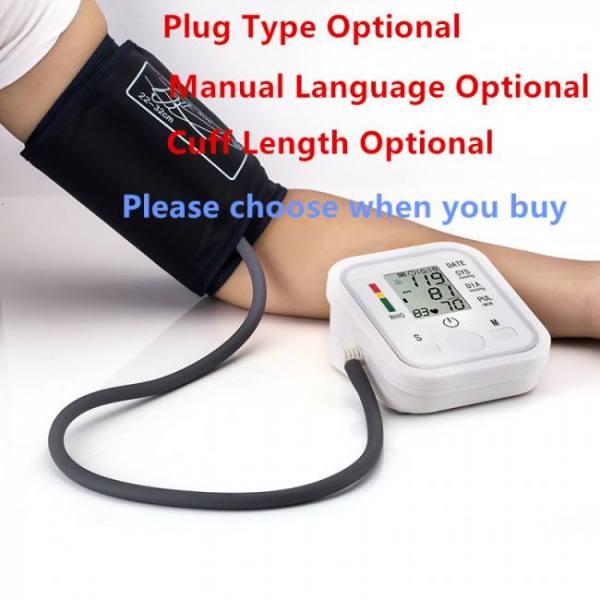 FREE SHIPPING JZKB02 Automatic Digital Arm Blood Pressure Monitor Arm
