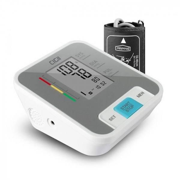 FREE SHIPPING B56 Portable LCD digital Upper Arm Blood Pressure Monitor Arm