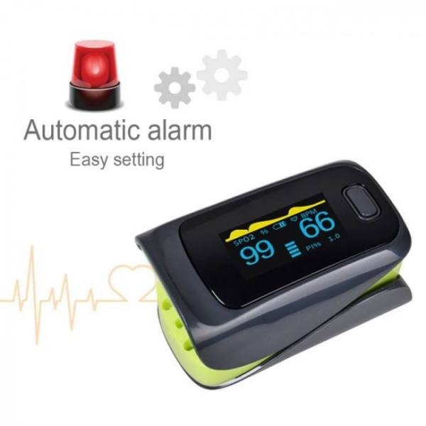 FREE SHIPPING ELERA Alarming Digital finger oximeter CE FDA pulse oximeter a finger SPO2 PR PI digital