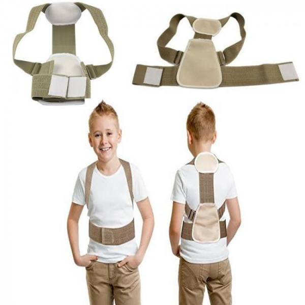 Posture corrector back brace for children teenagers young adults