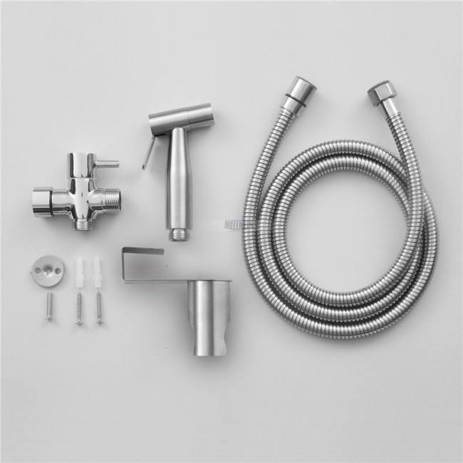 Miraculous Handheld Toilet Bidet Sprayer Set Kit Stainless Steel Hand Bidet Faucet For Bathroom Hand Sprayer Shower Head Self Cleaning Sadoun Sales Gamerscity Chair Design For Home Gamerscityorg