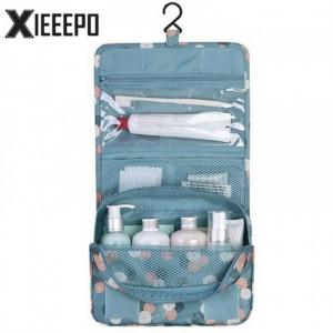 Mtb-4 high quality waterproof portable toiletry cosmetics makeup hanging travel bag