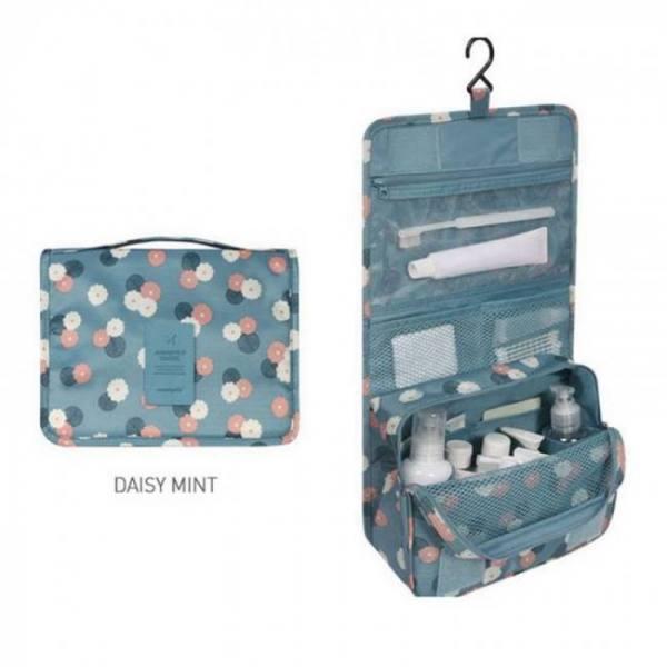 Mtb-4 high quality waterproof portable toiletry cosmetics makeup hanging travel bag