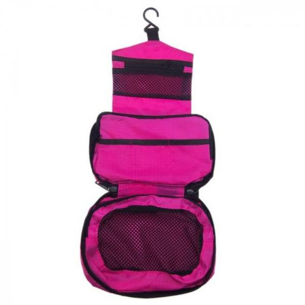 Mtb-3 high quality waterproof portable toiletry cosmetics makeup hanging travel bag