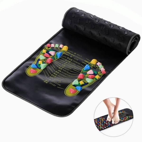 Reflexology foot massager mat 70cm x 35cm (27.5″ x 13.8″)