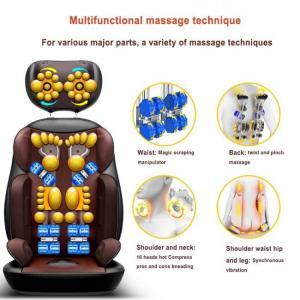 Shiatsu full body neck vibration kneading back heating massage cushion chair