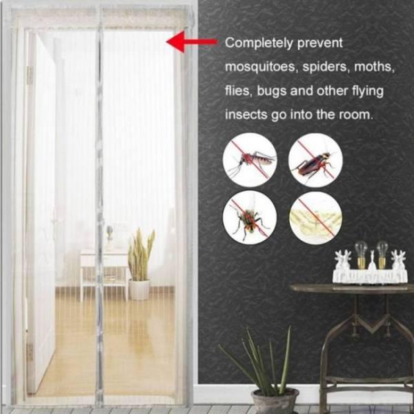 Door / window anti mosquito bug fly insect mesh net screen
