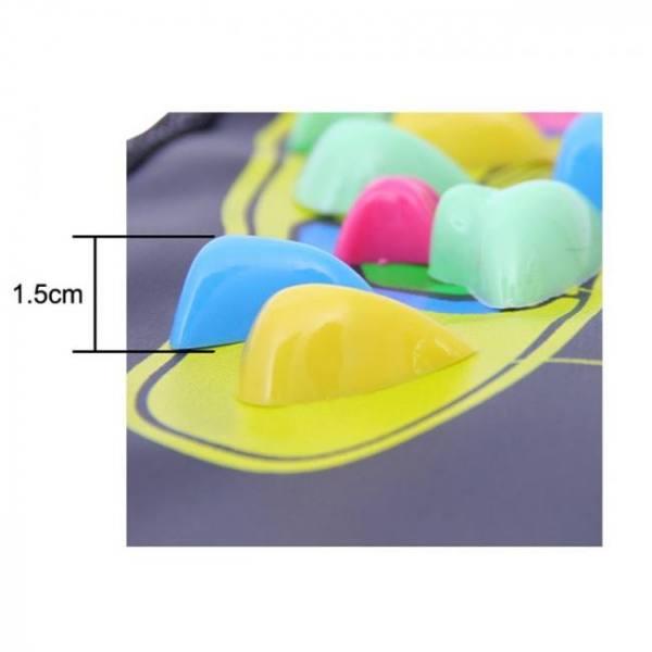 FREE SHIPPING Reflexology Foot Massager Mat 120cm x 35cm (47″ x 13.8″) acupressure