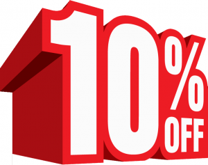 Get 10% extra discount on orders over $100 using coupon code: 10AP