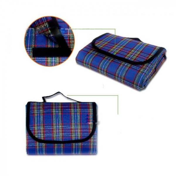 Camp & Survive 150x200cm Mat Plaid Folding Mattress Waterproof for Outdoor Beach Picnic Blanket 150x200cm