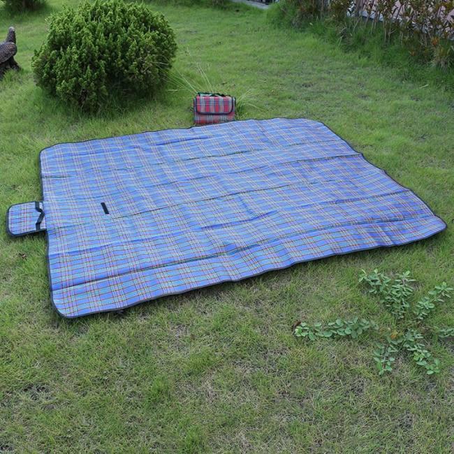 150x200cm mat plaid folding mattress waterproof for outdoor beach picnic blanket