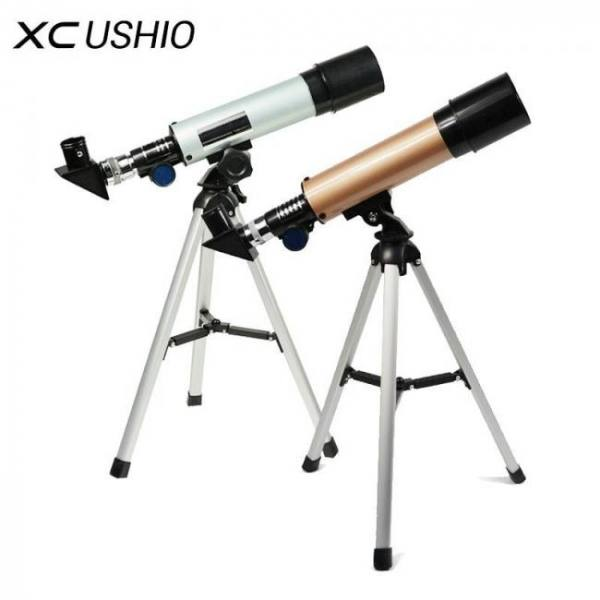 Monocular space astronomical telescope with portable tripod spotting scope 360/50mm telescope