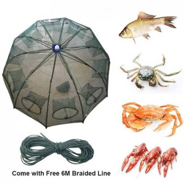 The magic fishing shrimp trap 4/6/8/10/12 hole