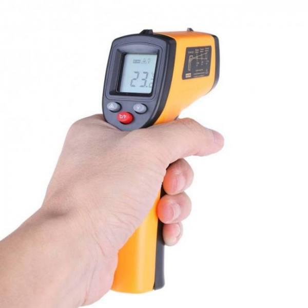 Accessories Infrared Handheld Digital Thermometer digital