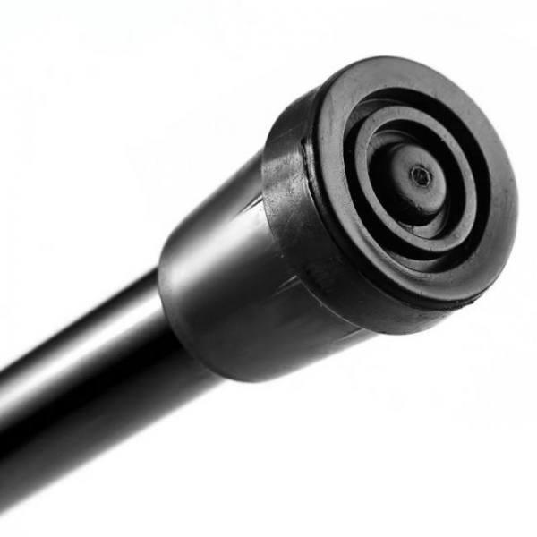 Adjustable aluminum folding walking stick travel cane with non-slip base